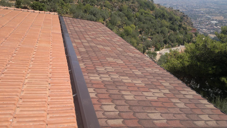 Copertura tetto con tegola canadese le nostre - Copertura a tetto ...