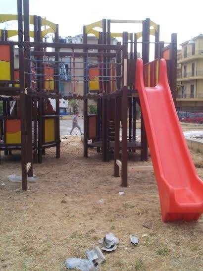Parco giochi Bagheria Rotary Piazza Butera