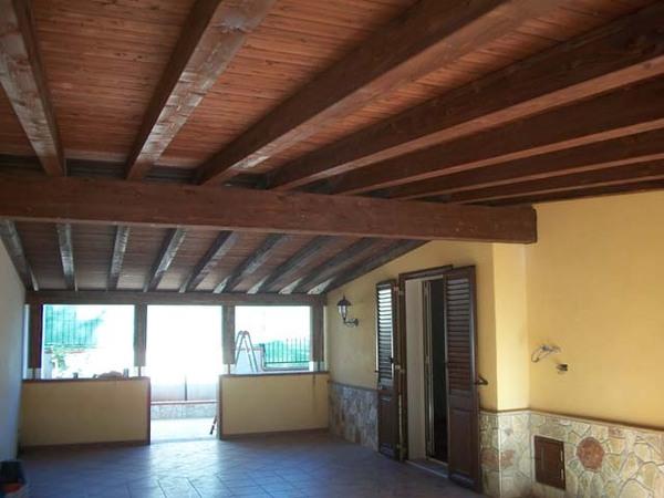 Coperture in legno lamellare - Bagheria (Palermo)