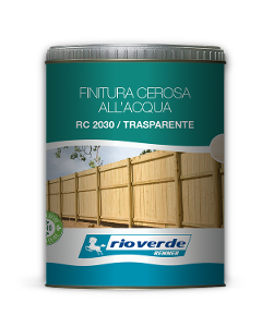 Finitura cerosa all'acqua Rio Verde RC 2030