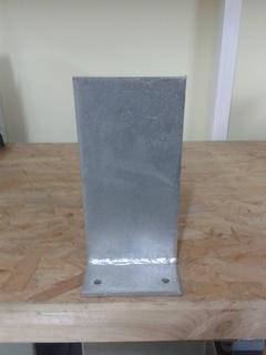 Porta pilastri a scomparso 100x100 x 200 sp.5 mm