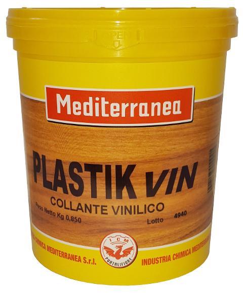 Colla vinilica Plastic Vin Industria Chimica Mediterranea