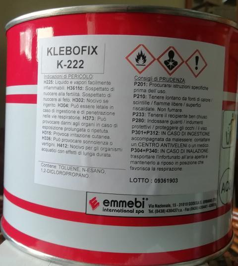 Colla Klebofix Emmebi International K-222