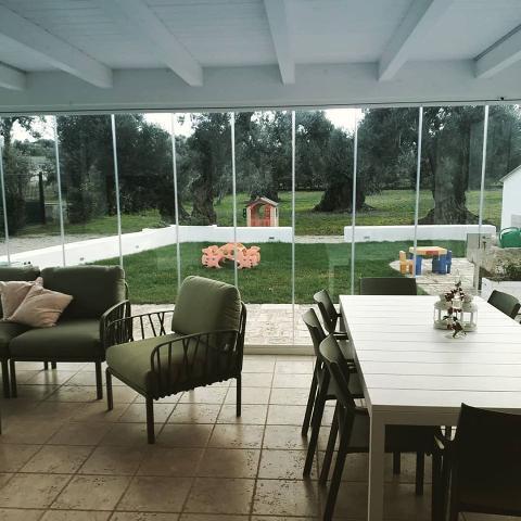Vetrata panoramica Key-Design Fanglass