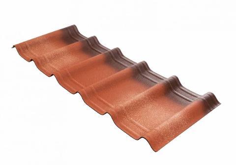 Tegola ondulate bituminose Onduline Onduvilla Fiorentino 3D