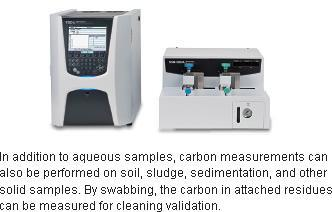 Analisi del Carbonio Organico Totale  TOC
