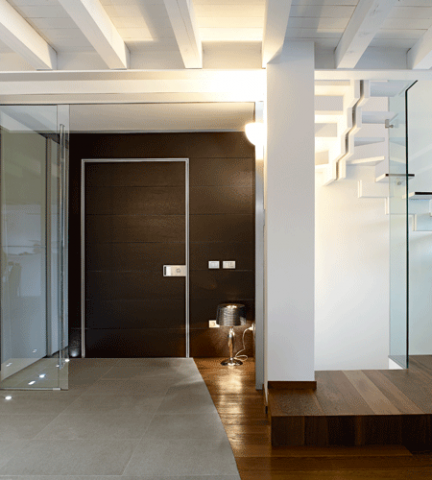 Porte blindate Oikos Collezione wall system