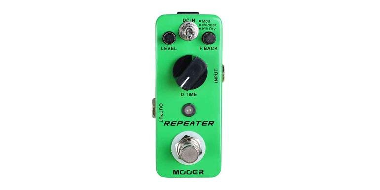 MOOER REPEATER DIGITAL DELAY MOOER