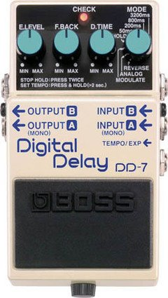 BOSS DD7 DIGITAL DELAY BOSS