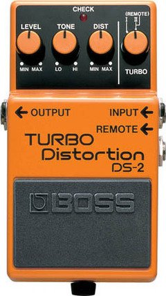 BOSS DS2 TURBO DISTORTION BOSS