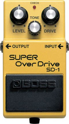 BOSS SD1 OVERDRIVE VALVE SOUND BOSS