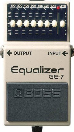 BOSS GE7 EQUALIZER BOSS