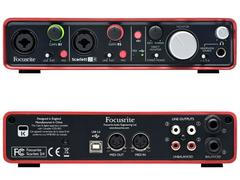 FOCUSRITE SCARLETT 2i4 - INTERFACCIA AUDIO USB 2 In/4 Out FOCUSRITE