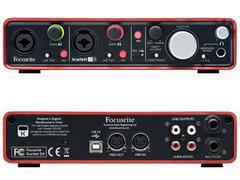 FOCUSRITE SCARLETT 2i4 - INTERFACCIA AUDIO USB 2 In/4 Out FOCUSRITE