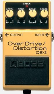 BOSS OS-2 OVERDRIVE/DISTORTION BOSS