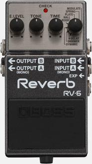 BOSS RV-6 REVERB BOSS