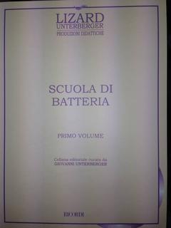 SCUOLA DI BATTERIA LIZARD PRIMO VOLUME RICORDI