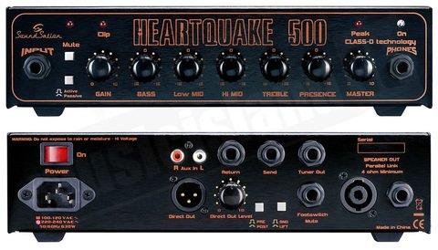 SOUNDSATION HEARTQUAKE-500 TESTATA 500W CLASSE D PER BASSO SOUNDSATION