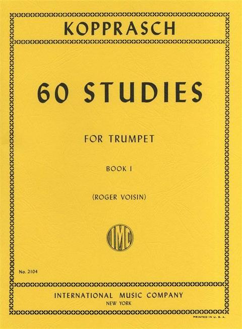 KOPPRASCH 60 STUDI PER TROMBA VOLUME 1 MGB