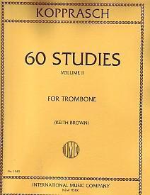 KOPPRASCH 60 STUDI PER TROMBONE VOLUME 2 MGB