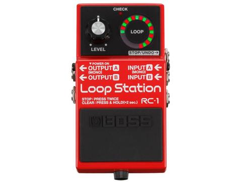 BOSS RC1 - EFFETTO LOOPER A PEDALE BOSS