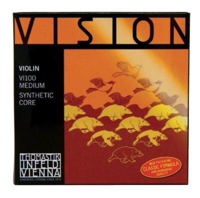 THOMASTIK VISION SYNTHETIC CORE CORDE PER VIOLINO THOMASTIK