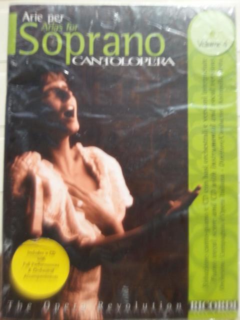 ARIE PER SOPRANO VOLUME 4 CANTOLOPERA RICORDI