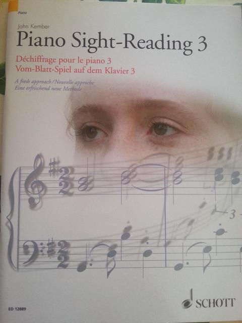 PIANO SIGHT READING 3 JOHN KEMBER SCHOTT  - Ragusa