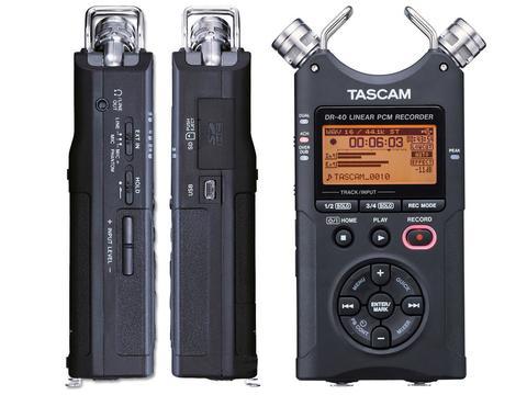 TASCAM DR40 - REGISTRATORE STEREO PORTATILE TASCAM