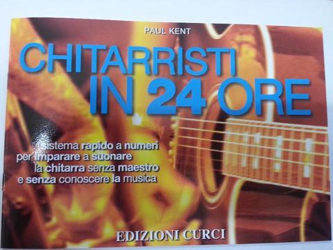 CHITARRISTA IN 24 ORE EDIZIONE CURCI