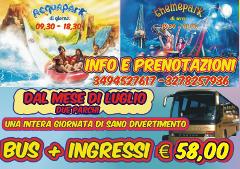 Trasferimenti per AcquaPark e Themepark