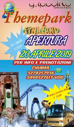 Etnaland 2019  Da Palermo per Etnaland € 39,00   Chiama 091494060   Servizio giornaliero con Bus GT