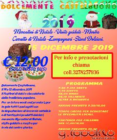 Dolcemente Castelbuono  Solo posto bus € 12,00