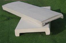 Coprimuretto in cemento Manufatti in Cemento Fortunato