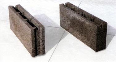 Blocchi in cemento Manufatti in cemento Fortunato 12x25x50