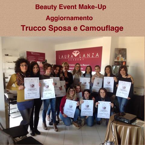 BEAUTY EVENT MAKE UP AGGIORNAMENTO TRUCCO SPOSA E CAMOUFLAGE-