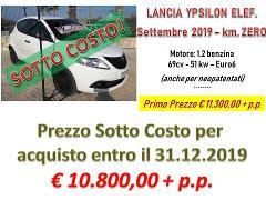 "Lancia Ypsilon Elefantino ""Sotto Costo € 10.800"" Benzina"