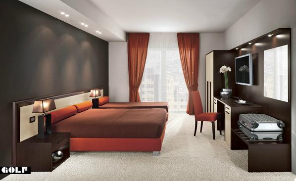 Mobili arredamento camere per albergo colombini golf for B b arredi