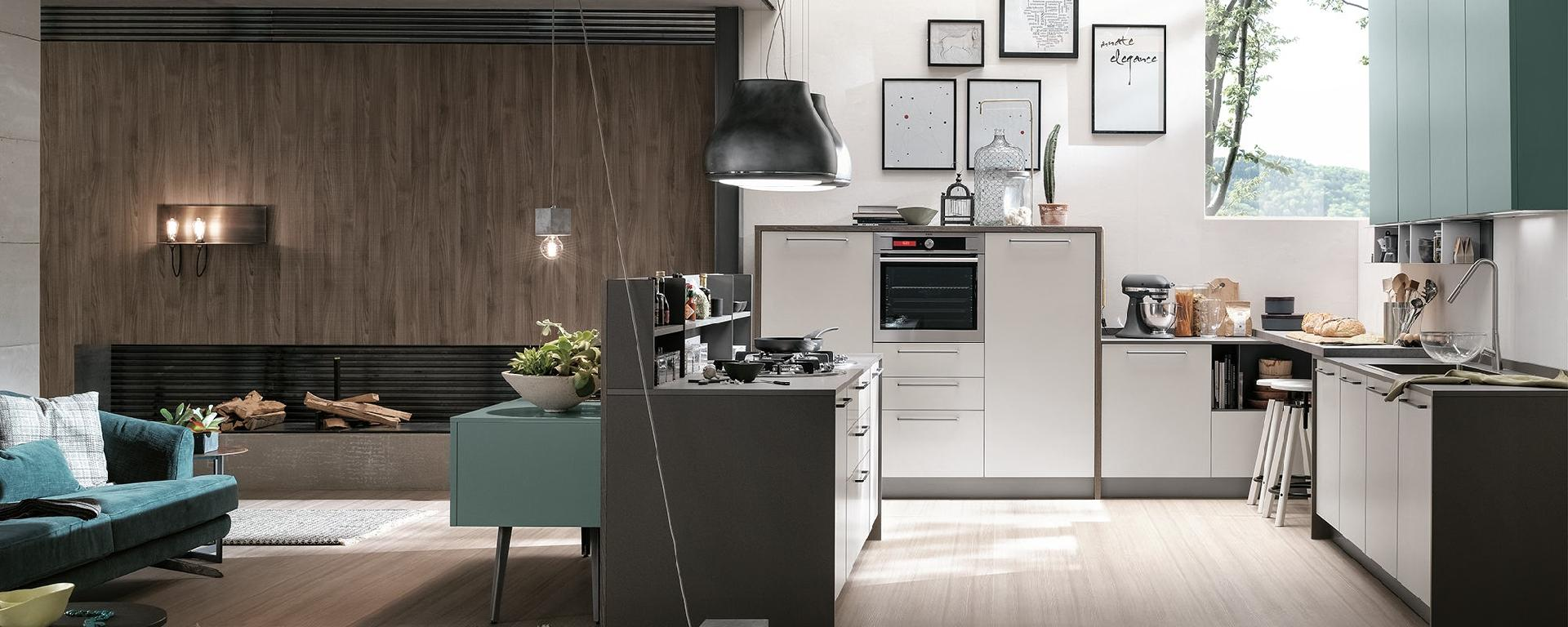 CUCINE COMPONIBILI MODERNE STOSA REPLAY - Trapani