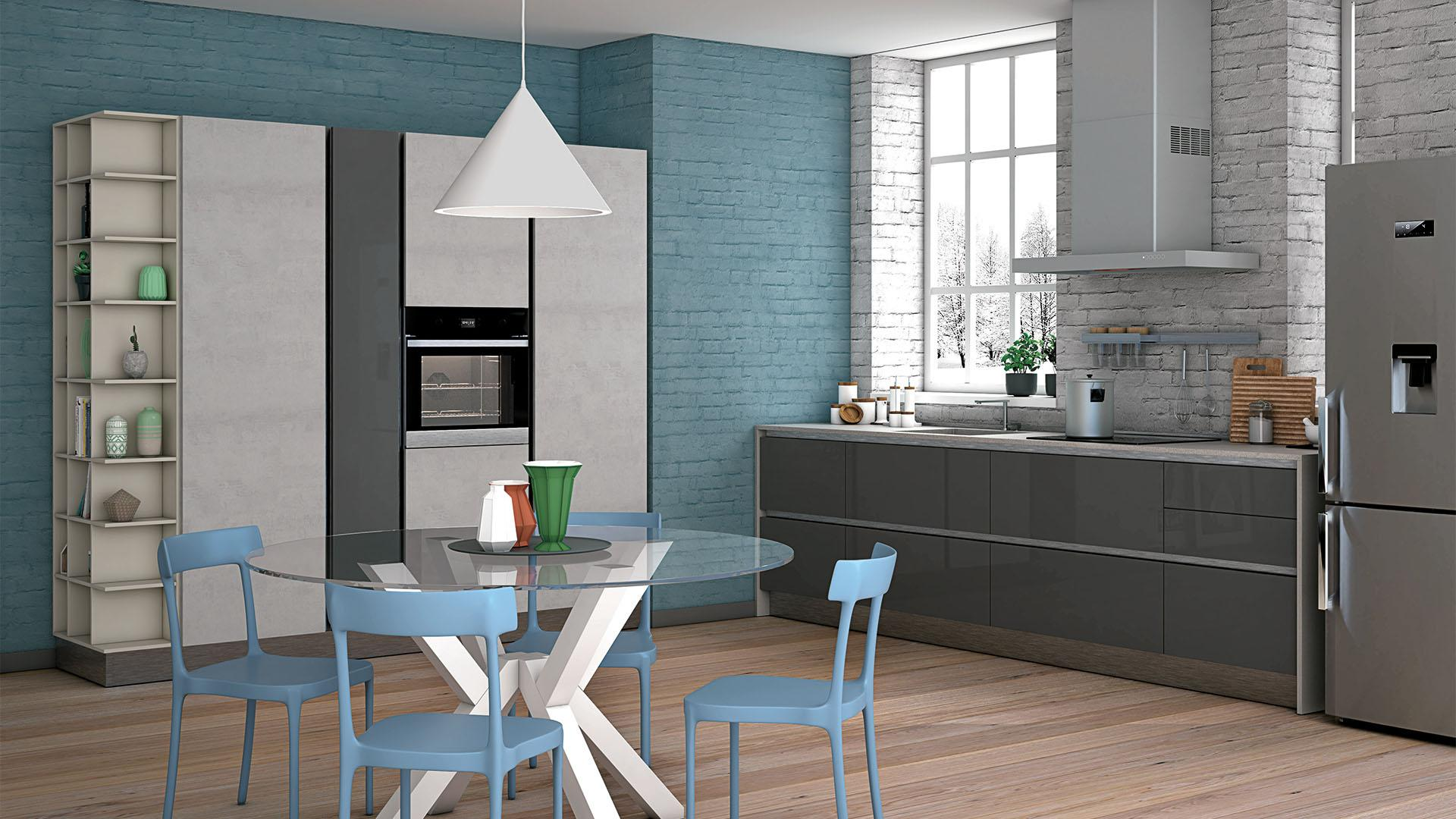 CUCINA COMPONIBILE CREO KITCHENS TABLET