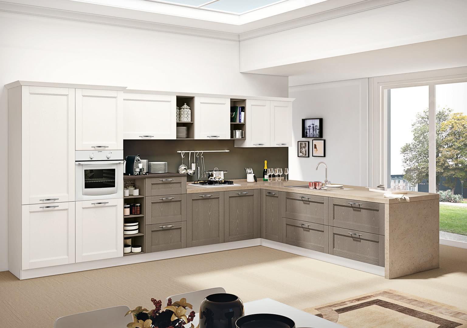 Cucina Kyra Creo Prezzo cucina componibile creo kitchens iris - trapani