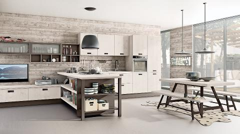 CUCINA COMPONIBILE CREO KITCHENS KYRA