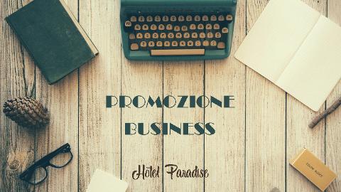 PROMOZIONE BUSINESS
