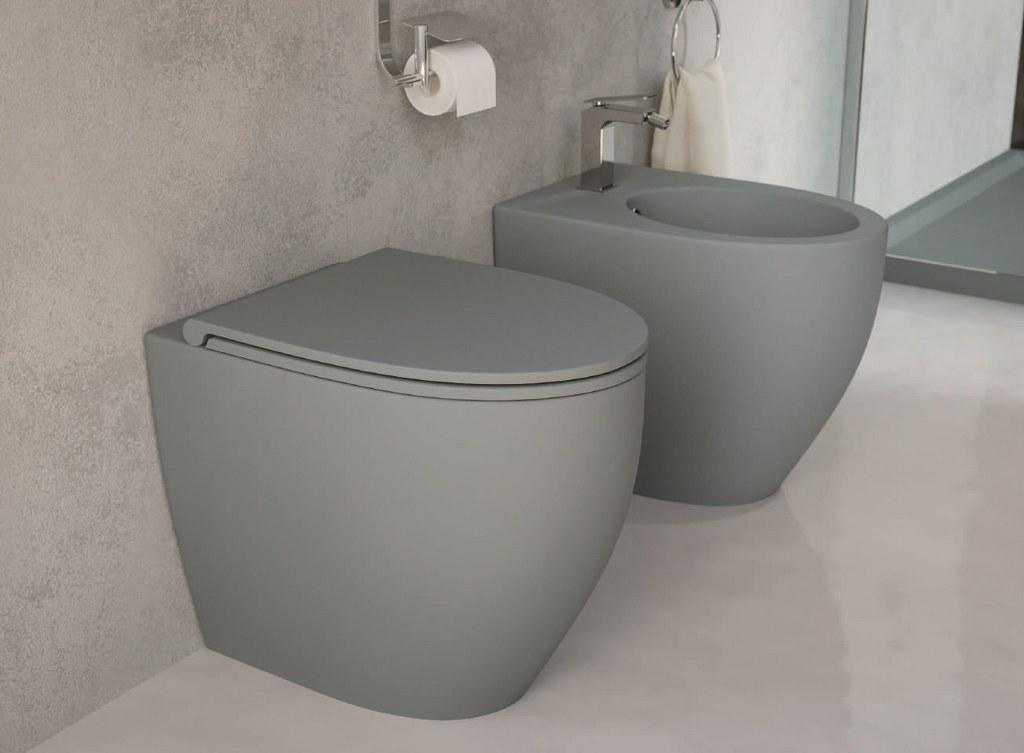 Esedra sanitari lavabi d 39 arredo forme pulite e geometrie for Arredo bagno sanitari