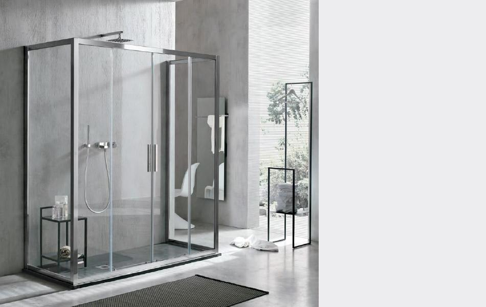 Piatti doccia da design agha box doccia agha a catania e - Box doccia resina ...