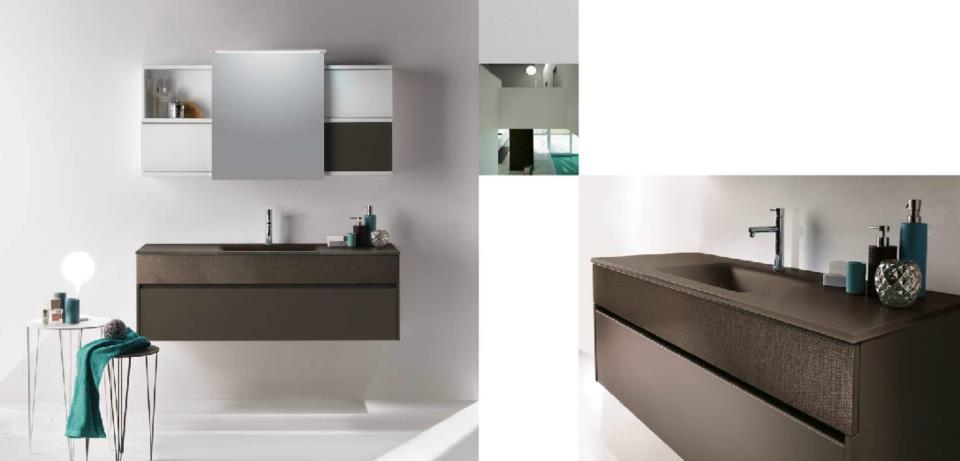Mobilcrab dal bianco al grigio dagli effetto legno all 39 effetto marmo materiale in hpl mobilcrab - Mobili bagno iotti ...