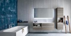 IDEAL BAGNO mobili da bagno ideal bagno con 11 nuove tonalità di finiture con effetti materici    Gres e tecnoril-marmi e quarzi hpl e fenix