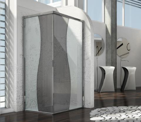 MEGIUS un concentrato di tecnologia che rende il vetro un tecnovetro Megius Box doccia e Sauna da design Arredo bagno