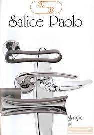 SALICE PAOLO cultura e competenze artigianali si fondono in una gamma di maniglie di fascia alta  -classico-antico-moderno