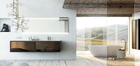 MOBILCRAB dal bianco al grigio dagli effetto legno all'effetto marmo,materiale in hpl Mobilcrab